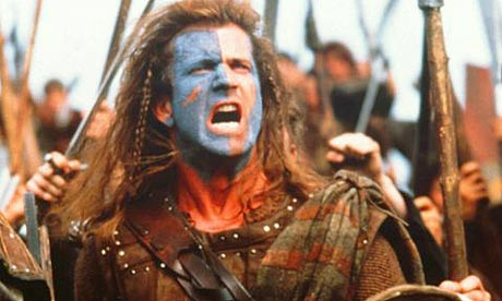 William Wallace, en una de las escenas de 'Braveheart'