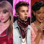 Justin Bieber, Rihanna y Taylor Swift tienen récords Guinness