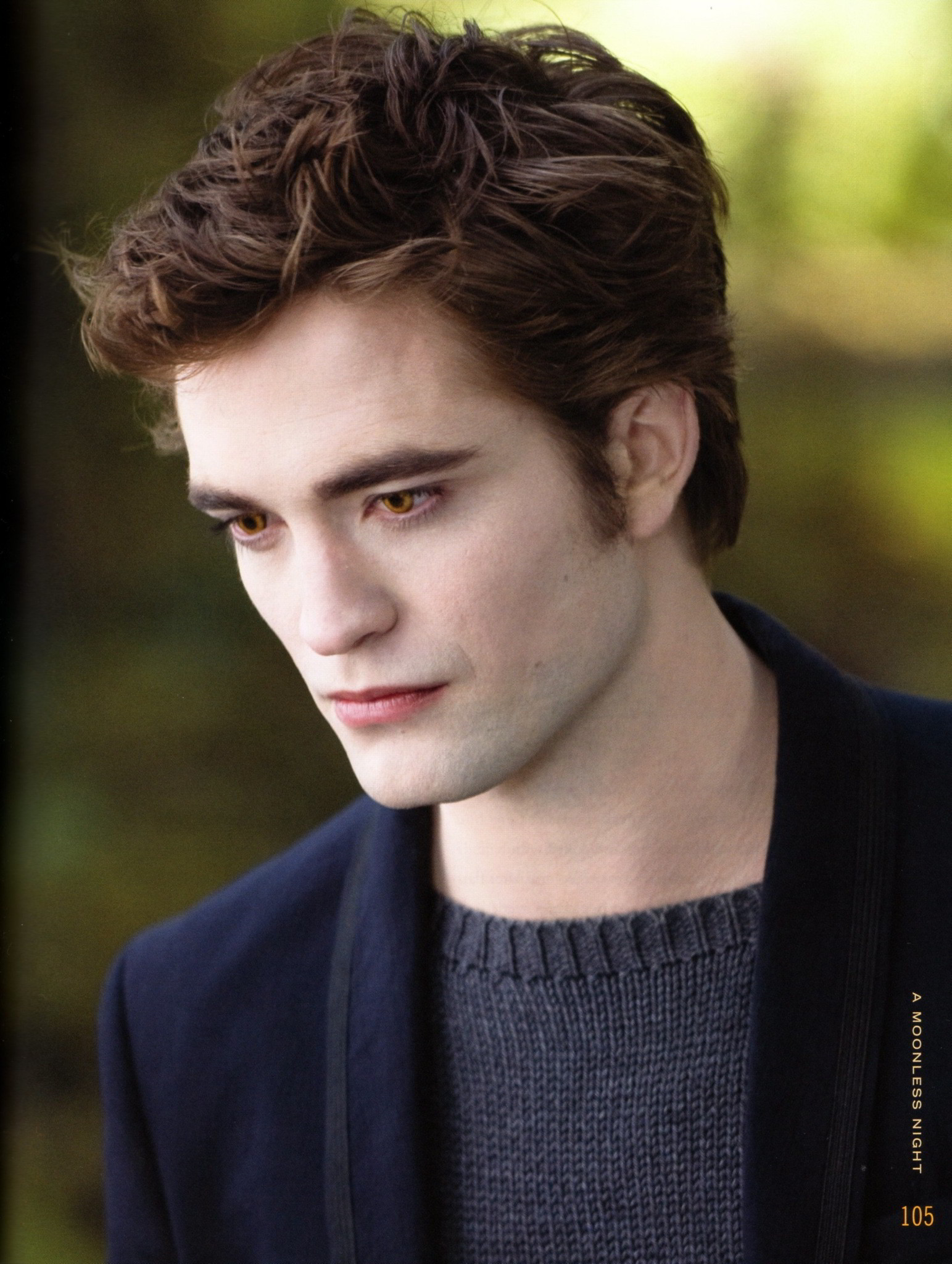 Pattinson como Edward Cullen