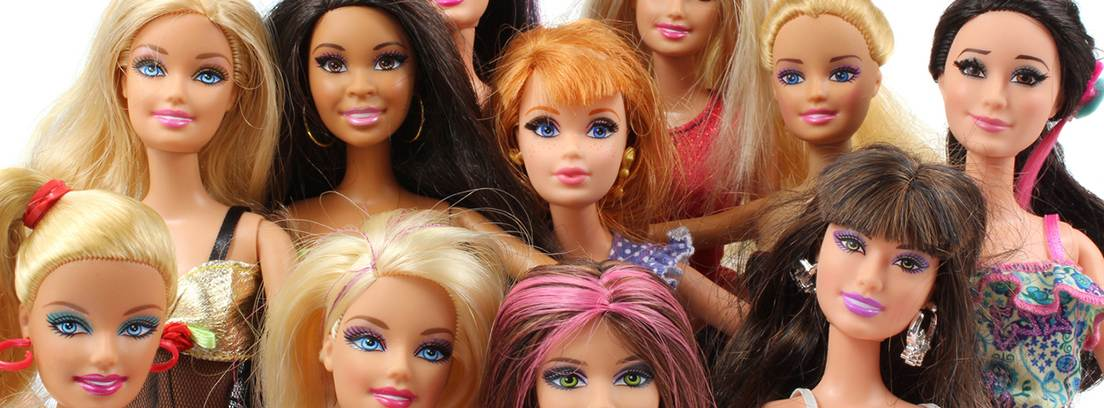 Diferentes versiones de Barbie