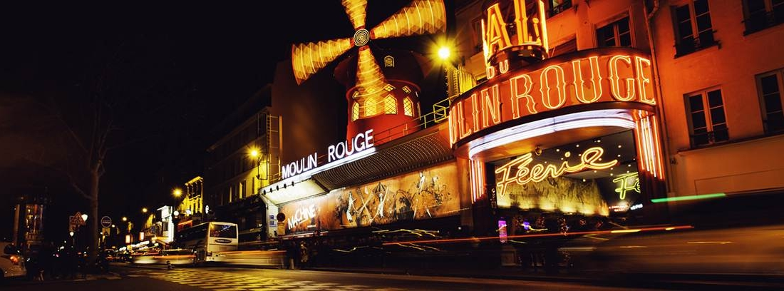 Exterior del Moulin Rouge