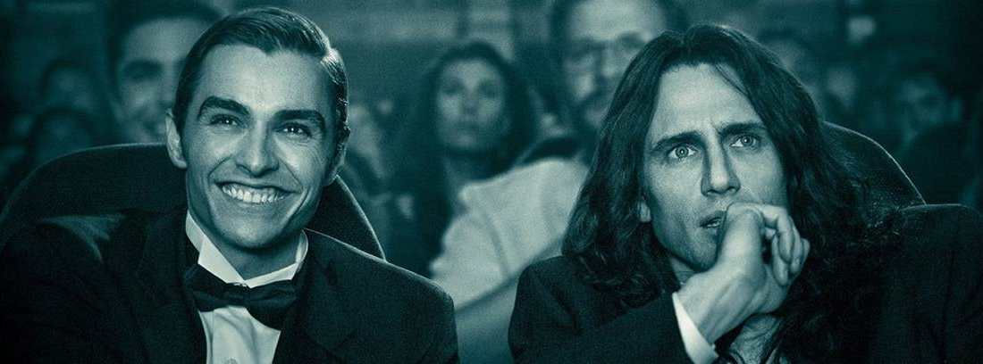 cartel de la película de James Franco, Disaster Artist