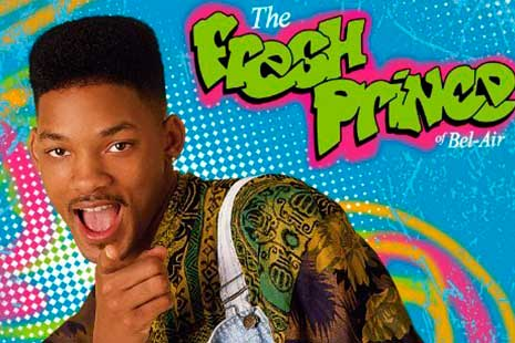 Imagen de Will Smith en un cartel del Príncipe de Bel Air