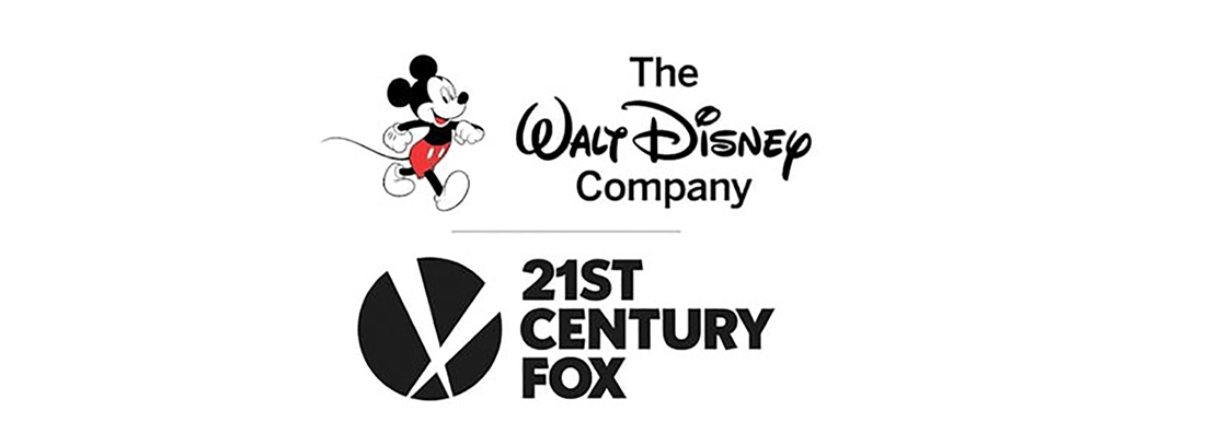 Logotipos de Disney y Fox