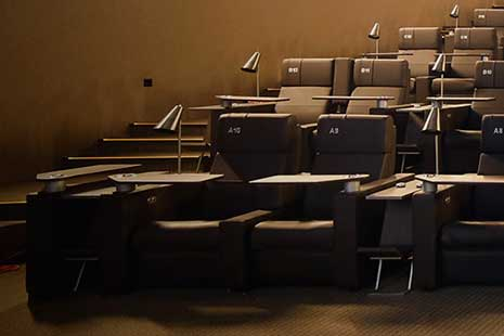 Butacas de Yelmo cines Luxury