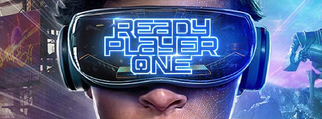 Póster oficial de la película Ready Player One