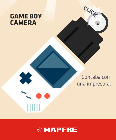 Videoconsolas antiguas: Game Boy Camera