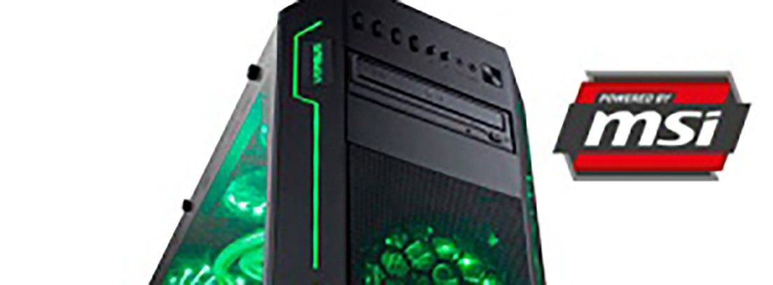 Interior del Versus PC - GreenFlash 2 de color verde