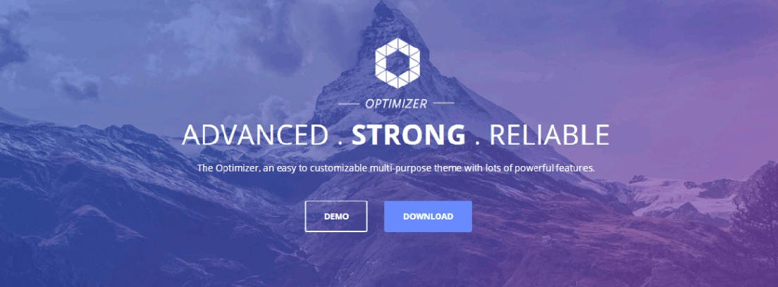 Tema Optimizer de WordPress