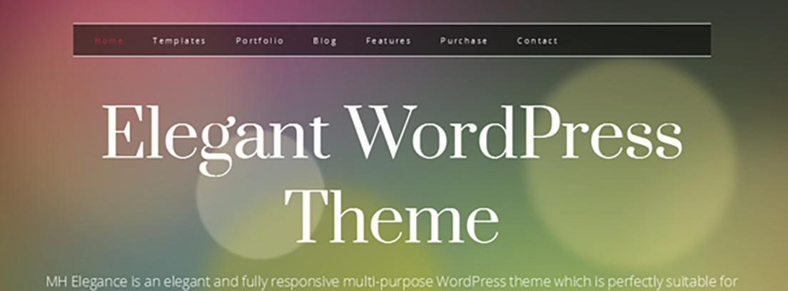 Tema Yosemite Lite de WordPress