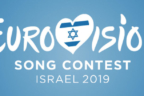 Letras color negro donde se lee Eurovisión song contest Israel 2019