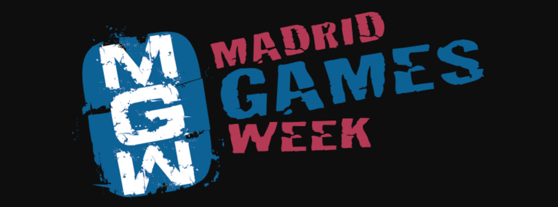 Logotipo Madrid Games Week 2018