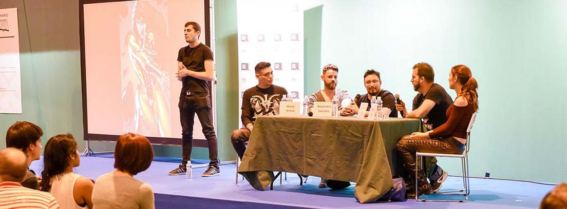 Mesa redonda en la Madrid Games Week 2018