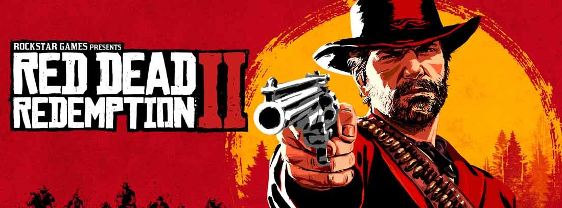 Cartel del videojuego Red Dead Redemption 2