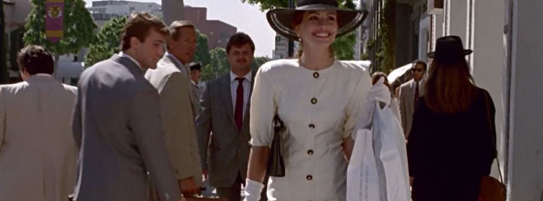 Julia Roberts en una escena de Pretty Woman