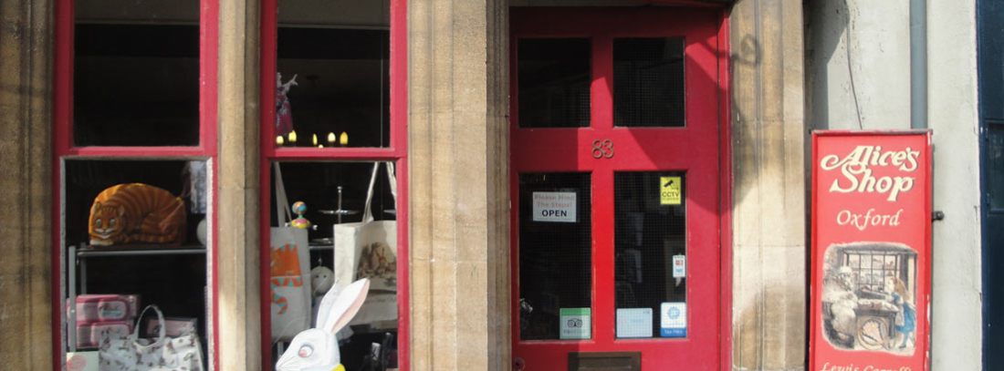 Alice´s Shop en Oxford