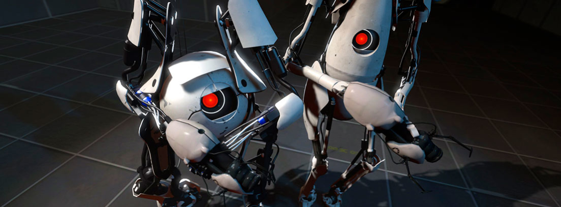 Atlas y P-Body de Portal 2