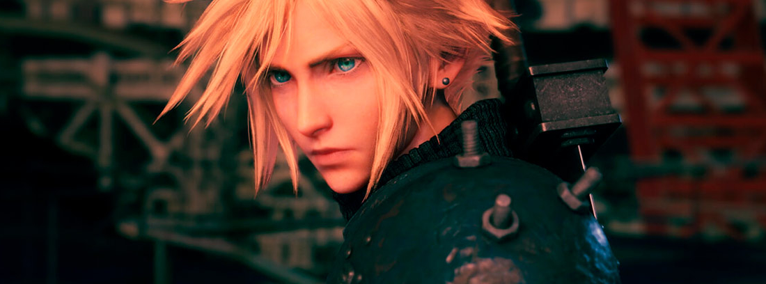 Cloud, en la remasterización de Final Fantasy VII