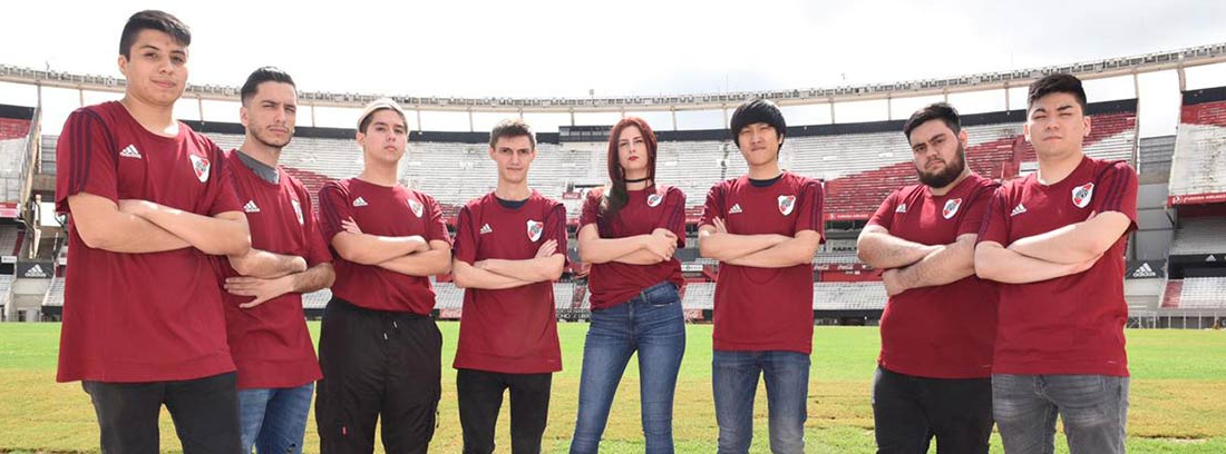 Equipo de River Plate Gaming