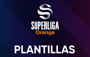 Logo super liga Orange Plantillas