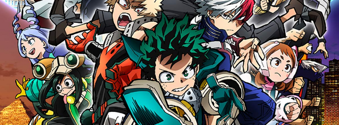 Póster oficial de My Hero Academia: World Heroes Mission